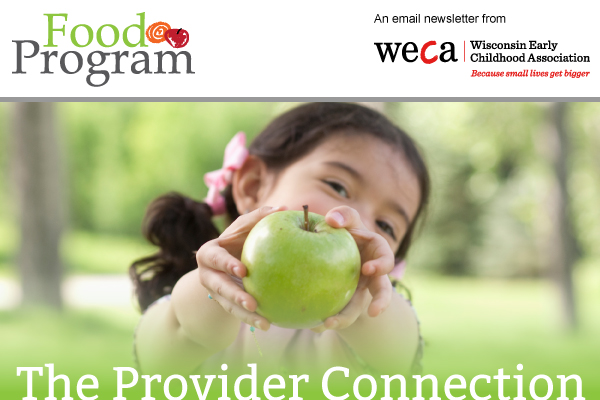 WECA Food Program - Provider Connection